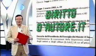 Videoservizio su Dirittodautore.it del TG3 Neapolis (RAI), 5 giugno 2002