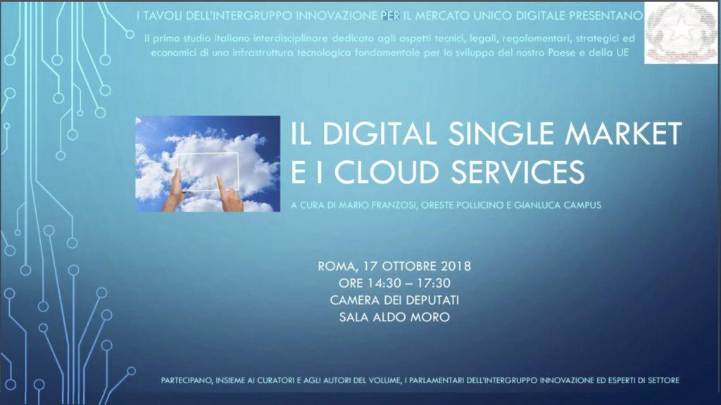 Presentazione Volume Cloud Roma 17.10.18