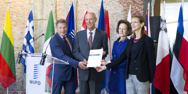 Deposit of Instrument of Ratificatio of the European Union