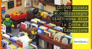 CD e DVD pirata e contrassegno SIAE