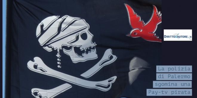 La Polizia sgomina Pay Tv pirata