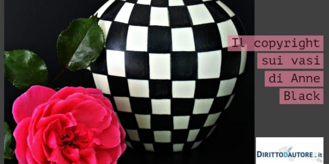 Copyright riconosciuto per i vasi di Anne Black