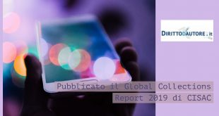 CISAC Global Collections Report 2019