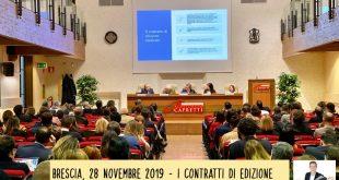 La contrattualistica del mercato discografico e dell'editoria musicale - Brescia 28 novembre 2019