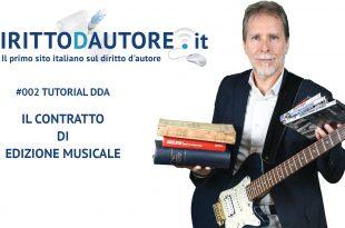 Tutorial #002 Il contratto di edizione musicale