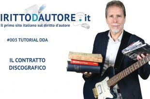 #003 Tutorial DDA Il contratto discografico